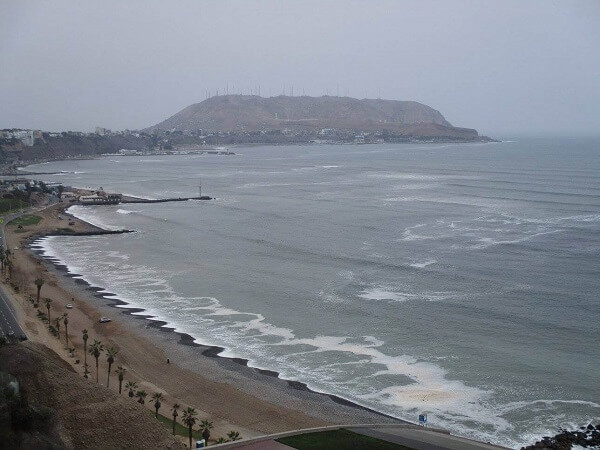 Costanera desde Miraflores, Lima
